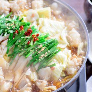 天神の居酒屋でもつ鍋や水炊きなどの九州料理が楽しめます。