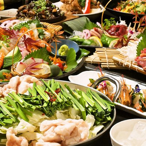 天神の居酒屋で九州料理を堪能する歓送迎会