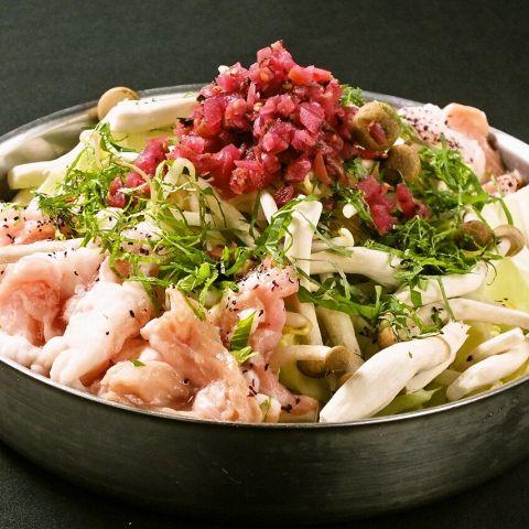 博多でもつ鍋食べるなら居酒屋「かりん・福岡天神大名店」