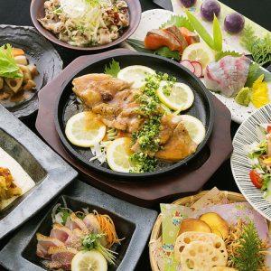 天神の居酒屋【かりん】で九州料理
